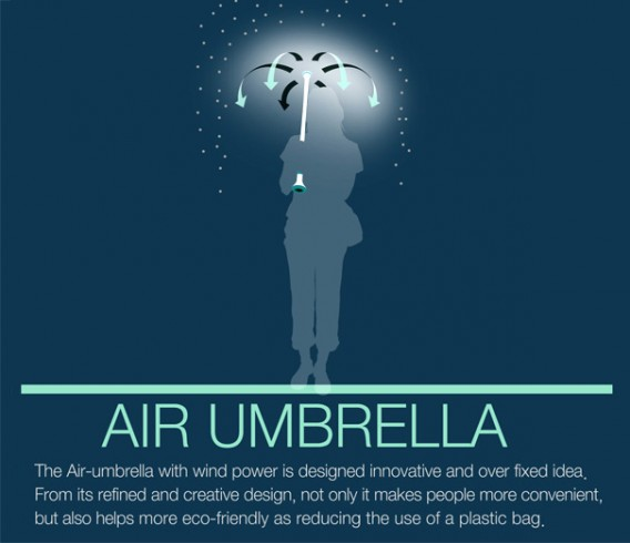 air umbrella eco friendly??