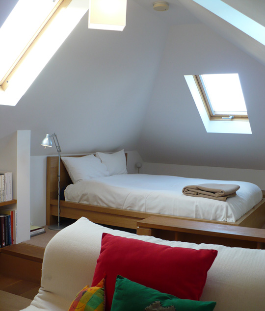 Attic room for Apartment therapy bedroom ideas