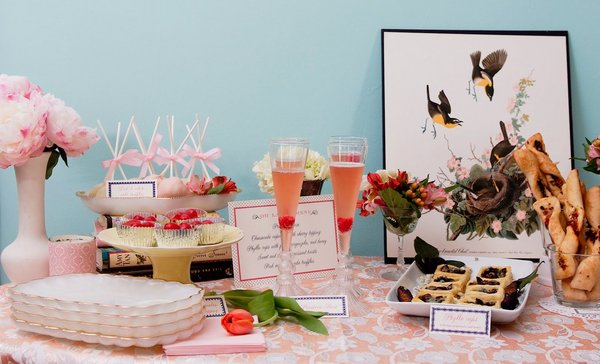 vintage bridal shower3