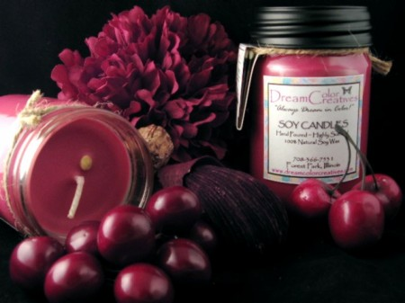 BlackCherry Candle