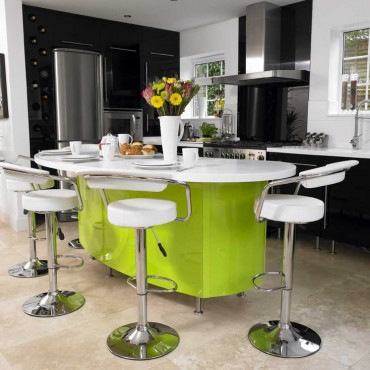 lime_kitchen_island