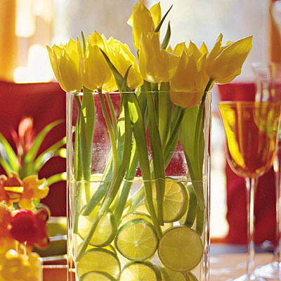 tulips+limes