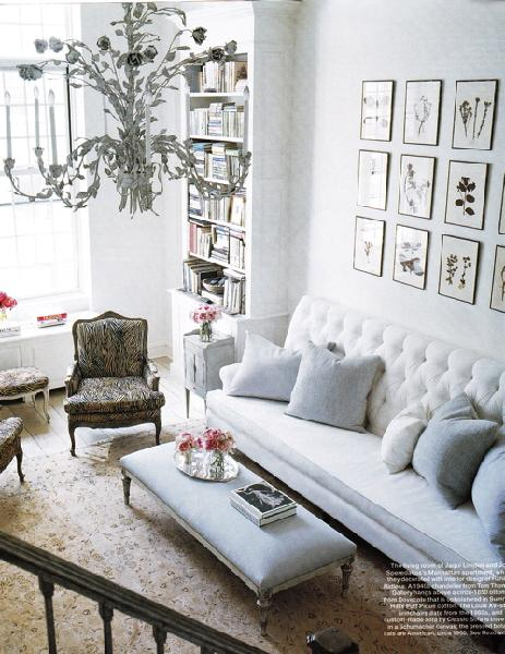 White Living Room Design: Whiter Than White