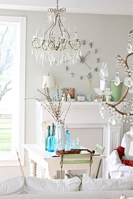 decorating with whites