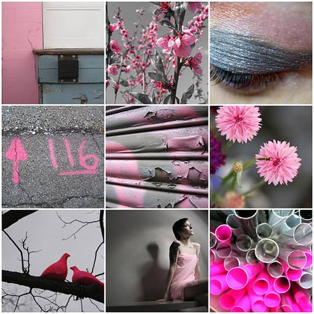 Color Inspiration Pink Grey