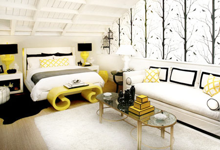 Color+Inspiration: Black+Yellow