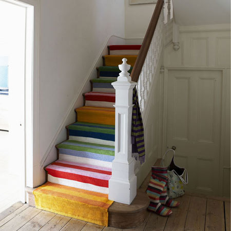 Rainbow-staircase
