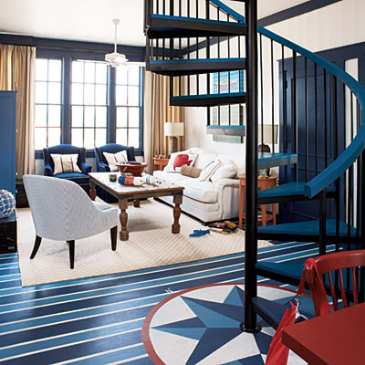 Color+Inspiration: Navy blue+White