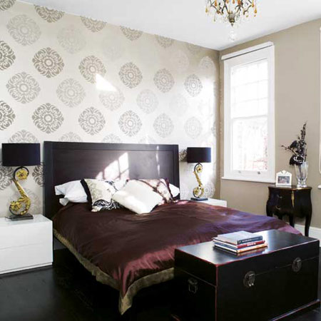 Design Trend Wallpaper On One Wall