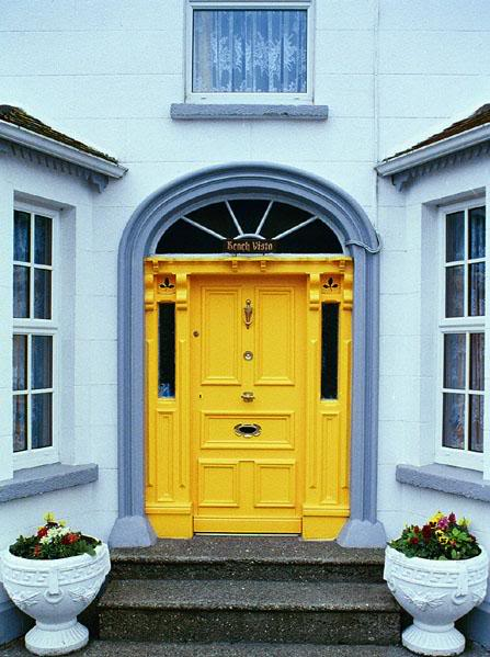 Color your front door
