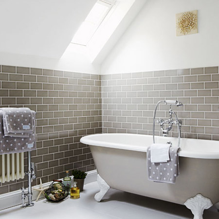 Grey Bathroom Ideas on Another Example Of Gray Bathroom  This One Seems To Be Conservative