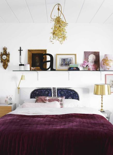 Reader Question Cream Purple Gold Bedroom: purple and gold bedrooms