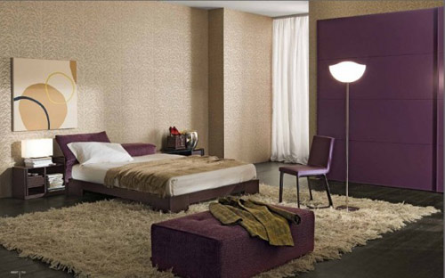 reader question cream purple gold bedroom