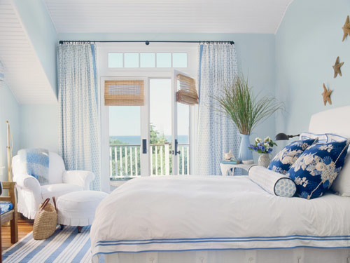Beach House Bedroom Decorating Ideas: Home Tour: Designer Meredith Hutchison