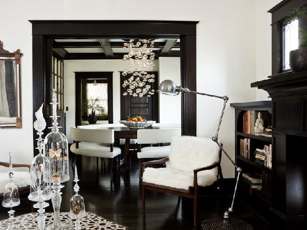 Fashion & Interiors: Black & White
