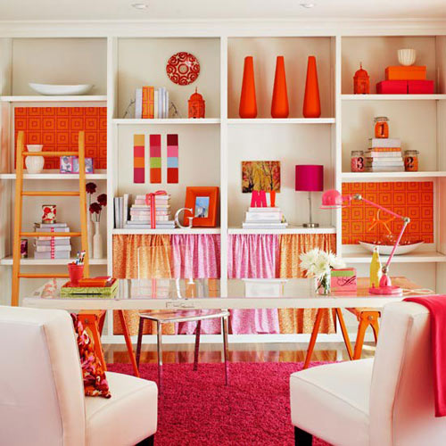 How To Bring Summer Vibes Into Your Home 6 Color Ideas: Color Report: Tangerine Tango
