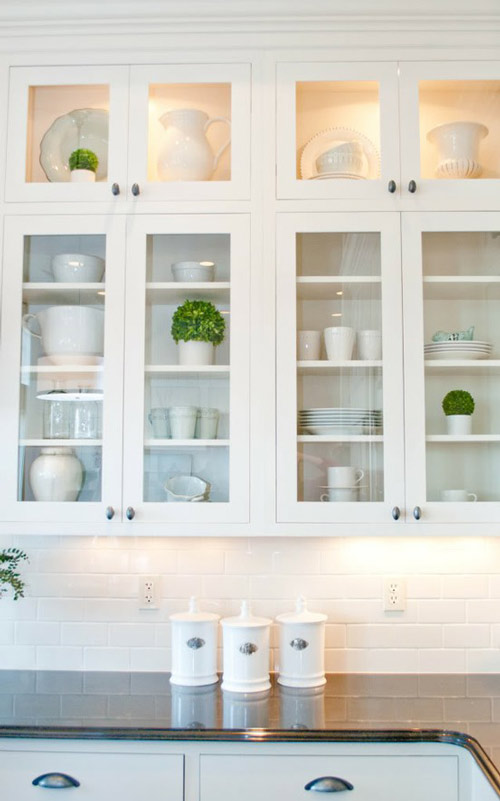 Kitchen Cabinet Shelves
